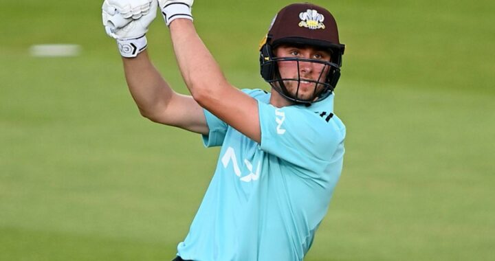 Vitality Blast: Surrey's Will Jacks smashes 70 from 24 balls in win over Middlesex at Lord's