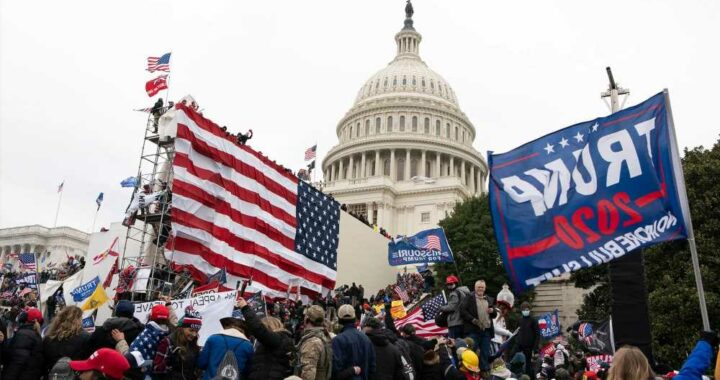White House calls Capitol riot 'terrorist attack,' endorses 'extremist' internet purge