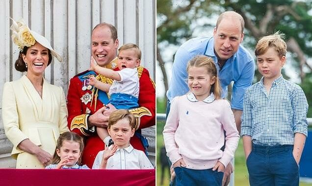 William and Kate 'told George he'll be King on his seventh birthday'