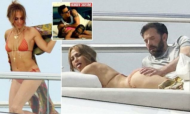 Ben and J-Lo recreate Jenny From the Block video in St. Tropez