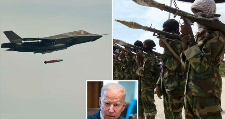 Biden forced to launch first air strike in Somalia targeting Al-Shabaab jihadis amid massive terror surge across Africa