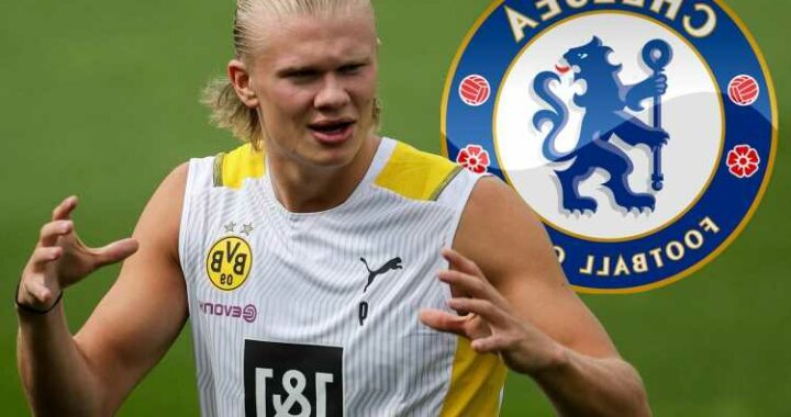 Chelsea 'set to launch £135m Haaland transfer offer' despite being able to buy Dortmund star for HALF that next year