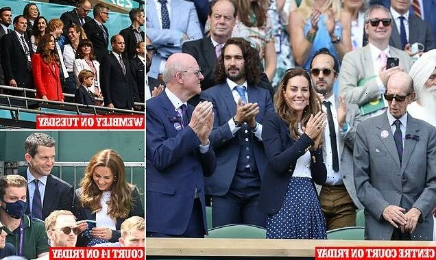 Did Kate Middleton find out at Wimbledon she had been 'pinged'?