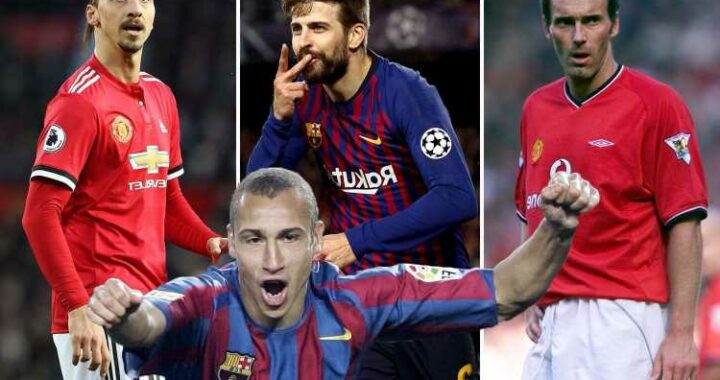 Eight stars who played for both Man Utd and Barcelona including Ibrahimovic and Sanchez – but who got best out of them?