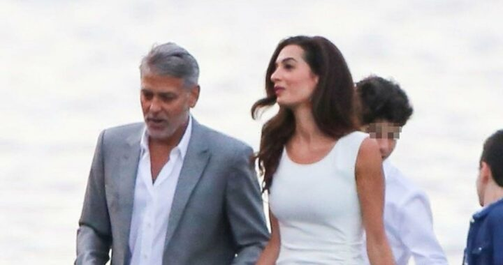 George Clooney and Wife Amal Have Fancy Night Out in Italy With Family