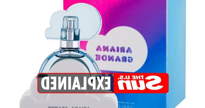 How much does Ariana Grande's cloud perfume cost?