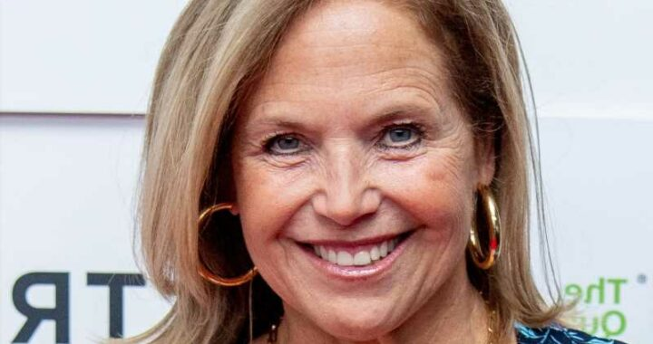 Katie Couric Reveals The Unique Feature On Her Mother Of The Bride Dress
