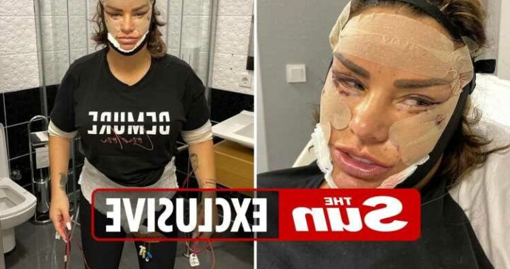 Katie Price says 'I look like a monster' as she reveals brutal surgery left her fearing she was would die