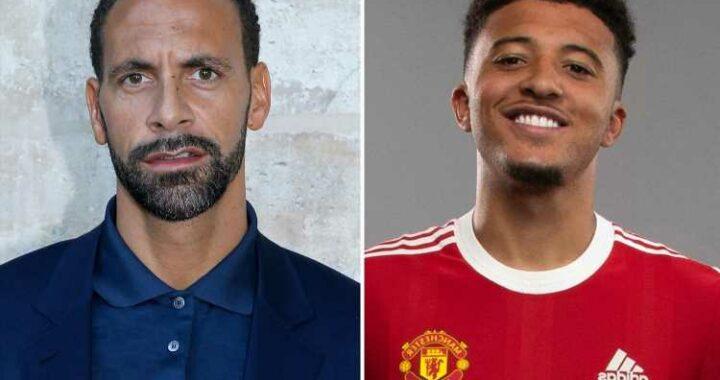 Man Utd stars welcome Jadon Sancho while Rio Ferdinand hails 'next Cristiano Ronaldo' with brilliant new chant