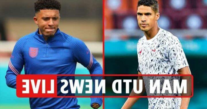 Man Utd transfer news LIVE: Camavinga transfer LATEST, Varane 'gives his word' to Red Devils, Shaw 'set for new deal'