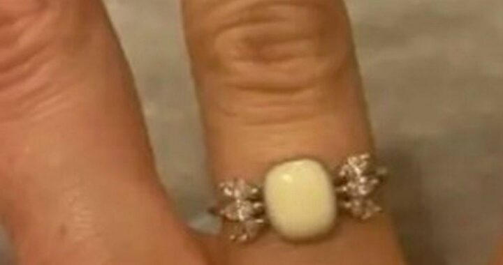 Man proposes with quirky engagement ring made out of girlfriends breastmilk
