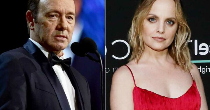 Mena Suvari details 'weird and unusual' Kevin Spacey encounter on set
