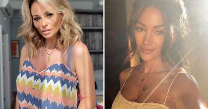 Michelle Keegan and Rhian Sugden enjoy the heatwave as Love Island girls strip off to bikinis