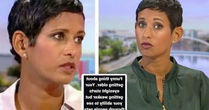 Naga Munchetty shares cryptic post about getting older and 'seeing through people'