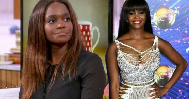 Oti Mabuse sets record straight after BBC viewer criticises her for vaccine remarks on-air