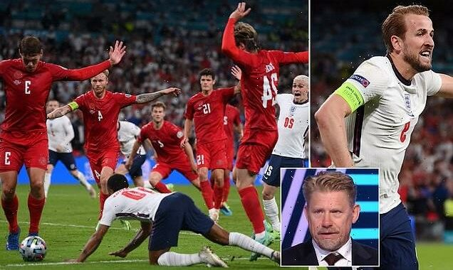 Peter Schmeichel slams 'REALLY big mistake' to give England a penalty