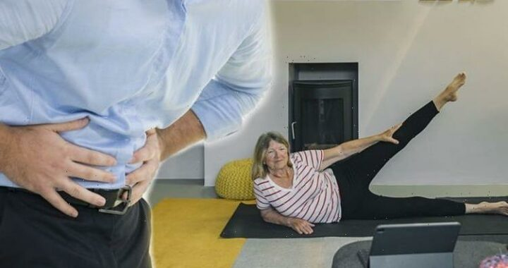 Stomach bloating: Low-impact exercise to improve gut health and reduce stress & symptoms