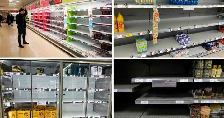 The four reasons why supermarkets may run out of food explained