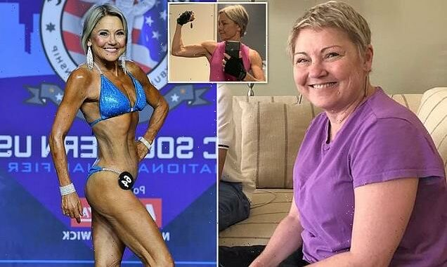 Woman is a bodybuilder at 64 after taking up exercise in her sixties