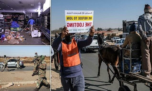 'We are on the verge of eating each other': South Africa vigilantes