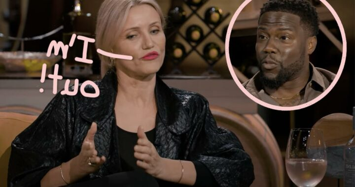 Cameron Diaz Opens Up To Kevin Hart About Why She Walked Away From Fame: 'I Don't Have What It Takes'
