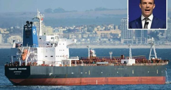 Dominic Raab accuses Iran of 'deliberate & callous' drone attack on tanker that killed Brit crewman as UK plans response