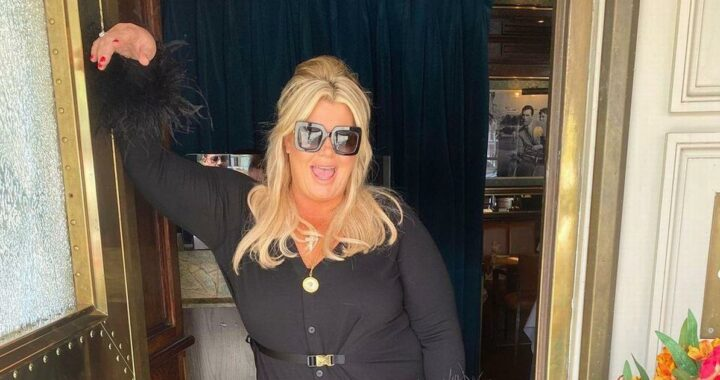 Gemma Collins shows off dramatic weight loss in all-black designer ensemble