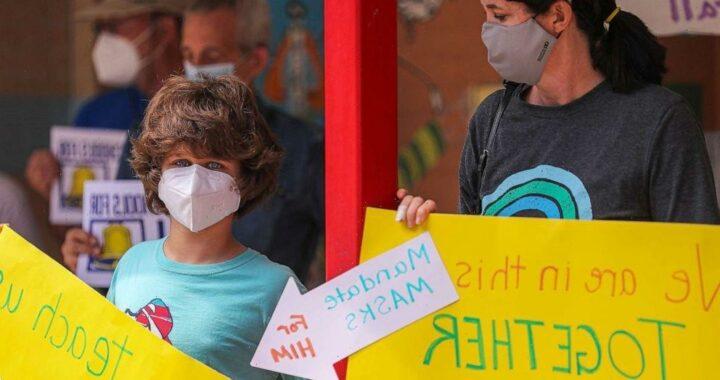 Houston among Texas school districts set to defy governor's ban on mask mandates