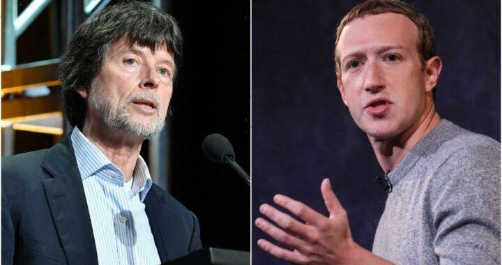Ken Burns Calls Mark Zuckerberg 'an Enemy of the State'
