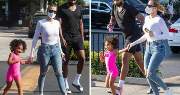 Khloe Kardashian reunites with ex Tristan Thompson at daughter True's class after slamming trolls for 'terrorizing' her