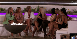 Love Island girls turn on Jake as they tell Liberty he's FAKE in first look