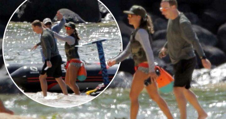 Mark Zuckerberg continues his summer of surfing in Hawaii