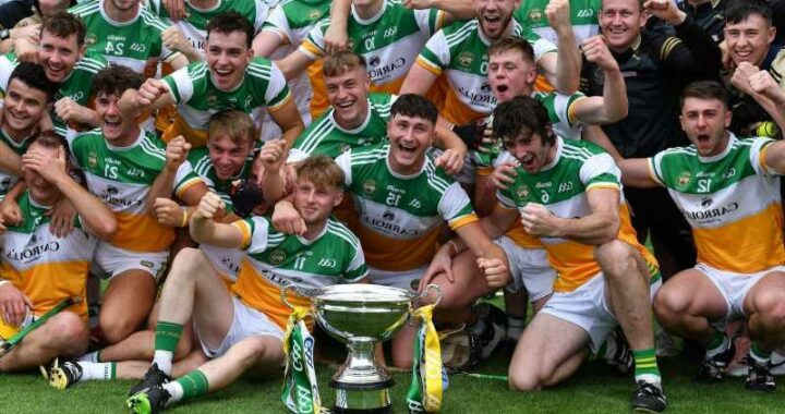 Offaly 0-41 Derry 2-14: Faithful County cap successful 2021 with Christy Ring Cup title