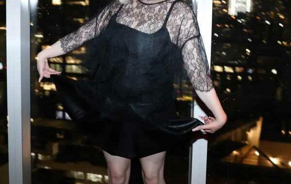 Billie Eilish Ended Her Met Gala Night in a Gothy LBD