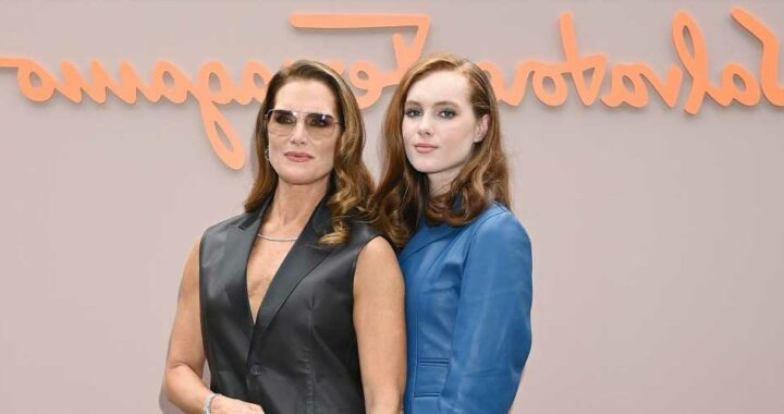 Brooke Shields and Her Daughter Grier Had the Sweetest Day Together at the Ferragamo Show