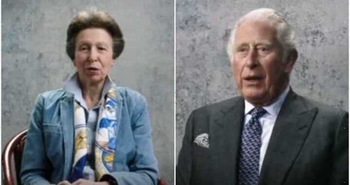 Charles shows deep regret for fathers death – whereas Anne shows lack of self-pity