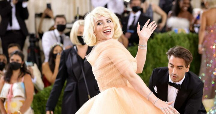 Did You See Billie Eilish's *Second* Met Gala Dress? See What the Star Changed Into While Inside