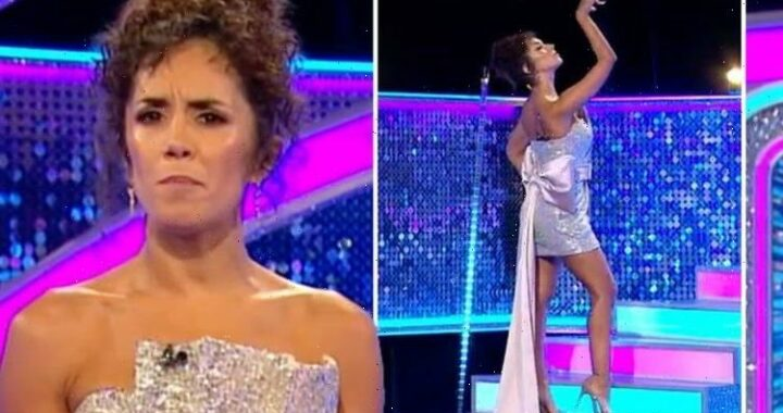 Janette Manrara appearance distracts It Takes Two viewers: Dressed as the Glitterball?