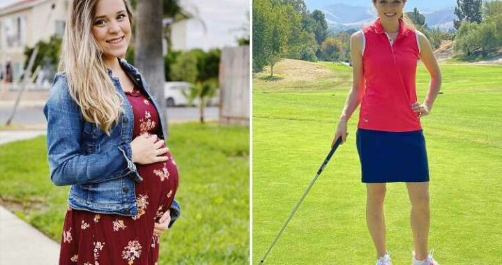 Jinger Duggar sparks concern for looking 'really thin' in golf photo months after giving birth to her second child