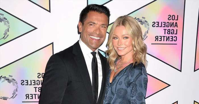 Kelly Ripa Insists Husband Mark Doesn't Use Eyeliner: 'It Doesn't Come Off'
