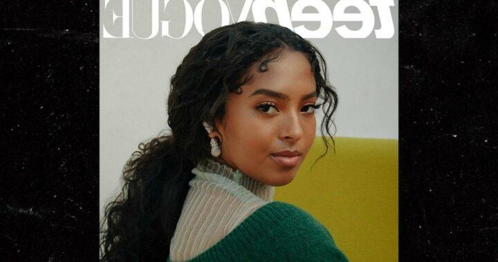 Kobe Bryant's Daughter, Natalia, Covers Teen Vogue, 'So Beyond Grateful!'