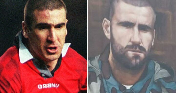 Man Utd fans in hysterics as Luke Shaw mural goes up ahead of Adidas launch… that looks like Eric Cantona