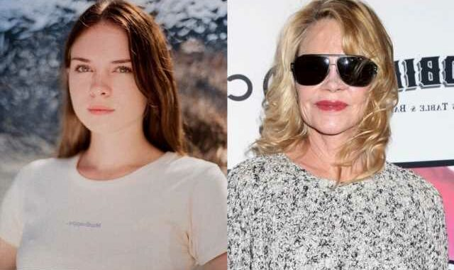 Melanie Griffith's Daughter Has No Ill-Intention Behind Dropping of Mother's Name