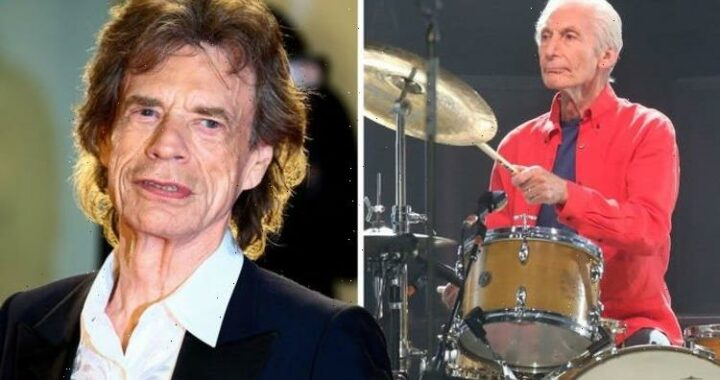 Mick Jagger in emotional on-stage tribute to bandmate Charlie Watts a month after he dies