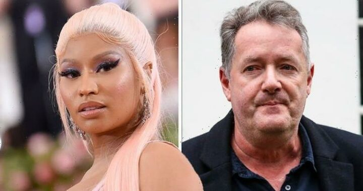 Piers Morgan slaps down Nicki Minaj as she hints anti-vax backlash is fuelled by racism