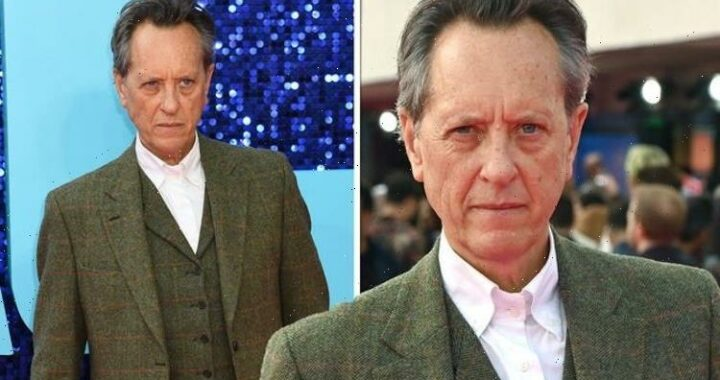Richard E Grant pictured for first time since wife's death to attend event 'in her honour'