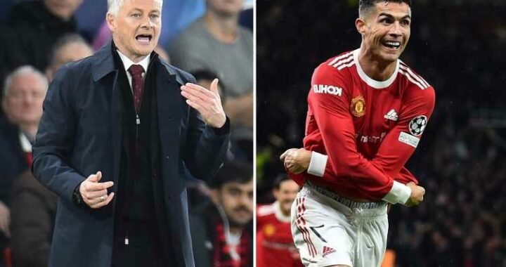 Solskjaer never gave up hope during Man Utd's Villarreal win, saying 'when you have Cristiano Ronaldo you have a chance'