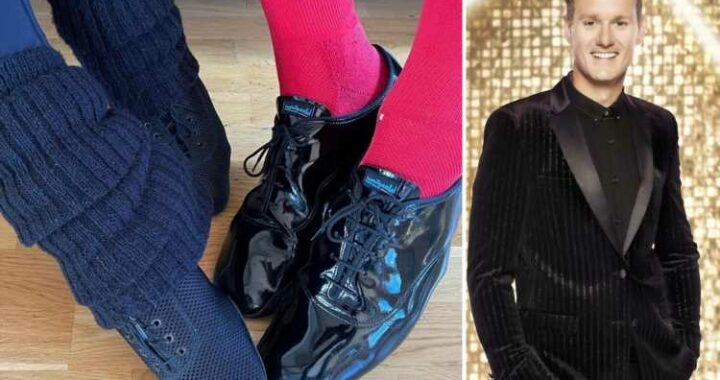 Strictly fans convinced Dan Walker has 'given away' his pro partner with pic of her shoes on Instagram
