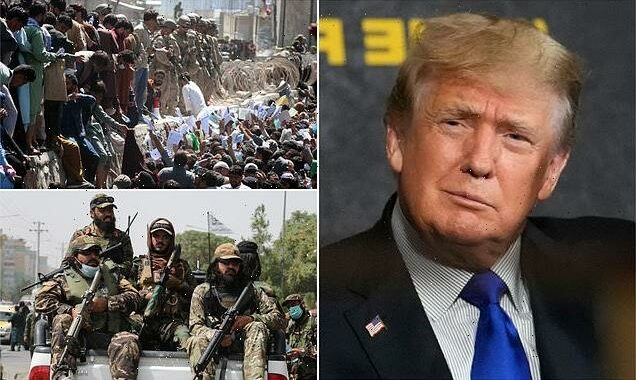 Trump claims the US 'absolutely' airlifted terrorists from Afghanistan