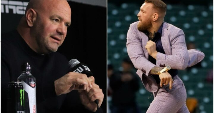 UFC President Dana White says he will NEVER throw a first pitch after Conor McGregor's hilarious baseball blunder
